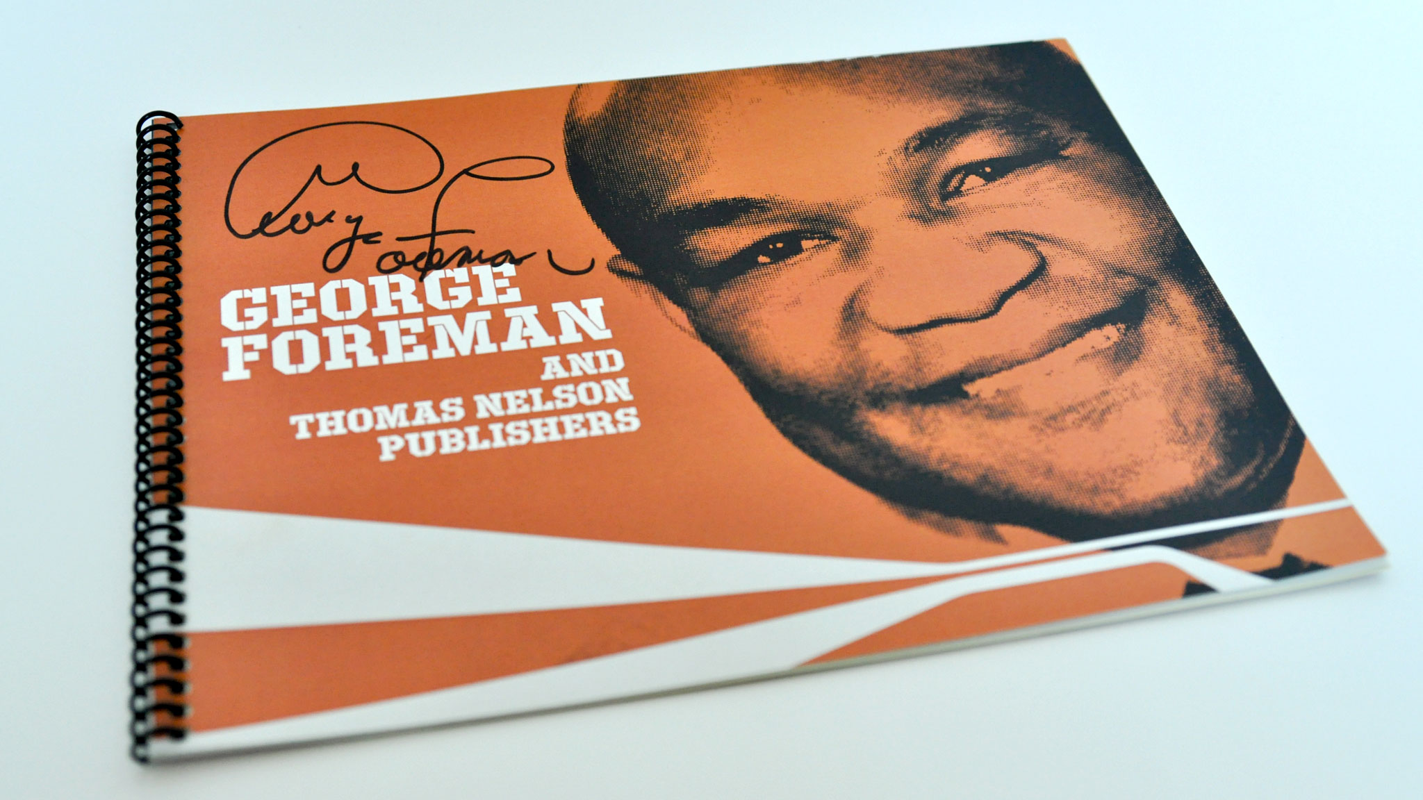 Cover, George Foreman Presentation book
