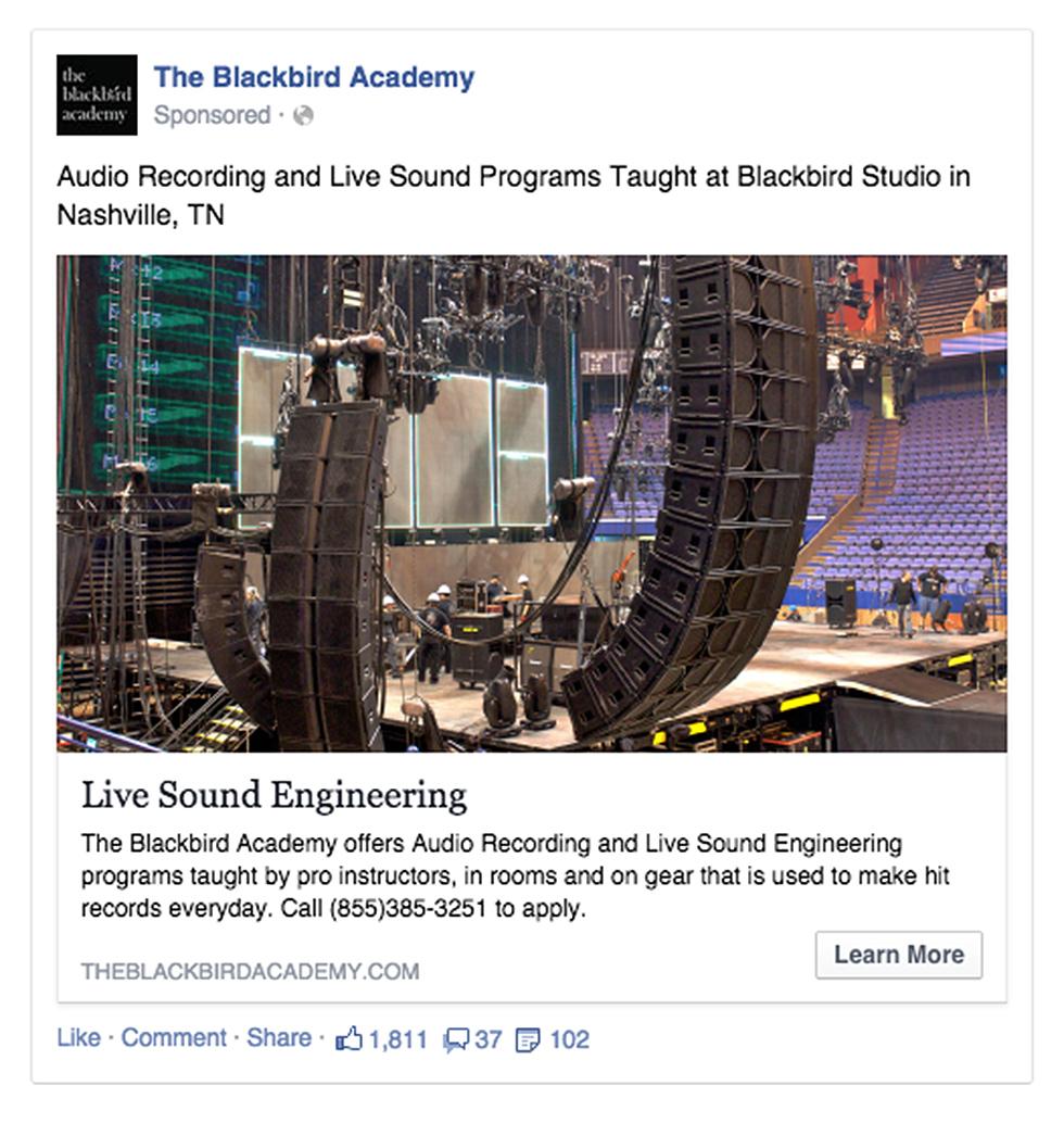 TBA Facebook campaign