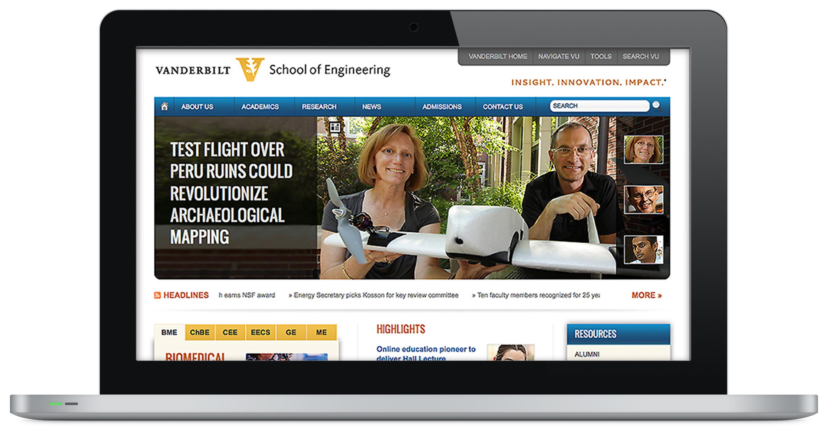 VUSE site design
